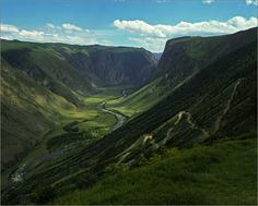 The Altay Mountains, Russia