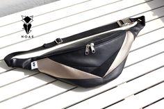 Weiteres - NOAS Hip Bag Bauchtasche platingold schwarz - ein Designerstück von NOAS_Berlin bei DaWanda