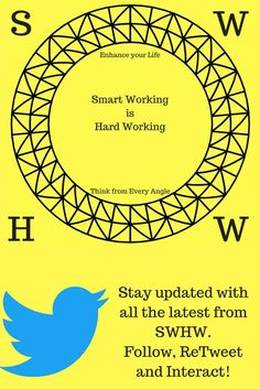 The Official SmarWorkingisHardWorking Twitter Page is here, be sure to check it out and stay tuned for insider information across the variety of platforms we use!