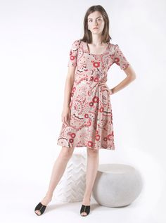 70s Radley by Ossie Clark Tea Dress with Celia Birtwell Babylon Print Celia  Birtwell 3f935e87e