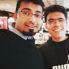 With @mrkaranbatra #vasantkunj #TGIF #dlfpromenade #bitcoiners #bitcoiner #bloggers