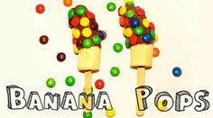 Cool Off This Summer with Some Delicious Banana Pops