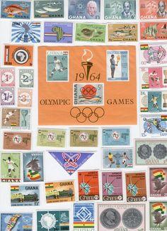 They won't last long! Ghana Stamps,GHANA