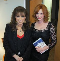 With #ChristinaHendricks backstage at The Late Late Show with #CraigFerguson