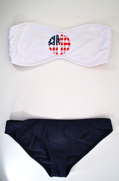Stars & Stripes Monogram Bandeau- do I like it or is it too much?