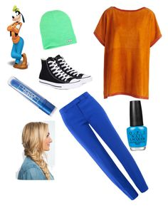 """""""Goofy😋"""" by pineapplefashions on Polyvore featuring Neff, Akris, Boutique Moschino, Converse and Lipstick Queen"""