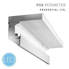 P59 — Cove-in-a-Box | A prefabricated perimeter cove system offering an indirect wall wash effect.The fixture illuminates walls while giving the ceiling the appearance of floating. For more details visit prulite.com. #lightingdesign #architecture #lighting #led #linearlighting #interiordesign #prulite #luxury #design #light #commercaillighting #beautiful #ledlighting #lightingcontrols
