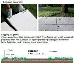 Norfloor - Walks 1.0 60x60 2cm fliser