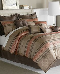39 Best Bedding Images In 2013 Comforters Bed Damask