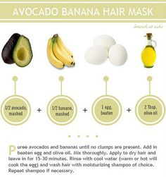 From my research, these are the most benefitial home ingredients for your hair. Add coconut oil if you have any and only egg yolks. The whites make it greasy.