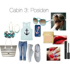 Cabin 3: Poseidon  | Zabolicious | Percy Jackson and the Olympians | Mythology | Fashion