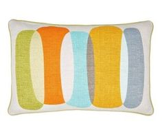 A simple Overlapping Pebble Cushion from Next