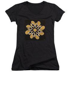 Infinite Ribbon, No. 1 - Women's V-Neck T-Shirt