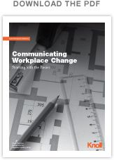 Communicating Workplace Change | Workplace Research | Resources | Knoll