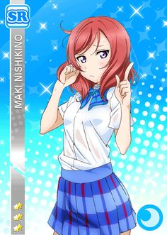 The Ultimate Resource For LoveLive! School Idol Festival players Browse & track your cards. Pretty Anime Girl, Beautiful Anime Girl, Anime Love, Manga Characters, Disney Characters, Maki Nishikino, Haku, Anime Stars, Love Live