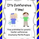 It's Conference Time!This is a free download with some of my favorite tools I use for parent/teacher conferences in my classroom.Included in th...