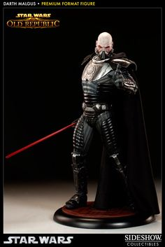 Estatua Star Wars The Old Republic. Darth Malgus 51 cm. Premium Format. Sideshow Collectibles