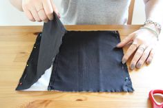DIY: Niedlichen Kissenbezug nähen - Nähen bei DaWanda
