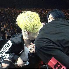 Haha it same look like Nyongtory are kissing kkk #nyongtori #nyongtory #seungri #gdragon #gri  Cr: the owner