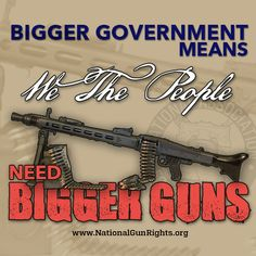 Isn't that the purpose of the Second Amendment?