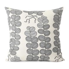 Cushion Celotocaulis Grey Linen. Svenskt Tenn