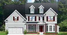 Traditional House Plan 54140