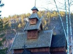 En stjerne skinner i natt - Norwegian Christmas song with picturs of stave churches. Sung by the Oslo Gospel Choir. #MerryChristmas #Norway