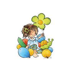HM9469 / snoesjes stempel party balloons - Vadeko Kreatief