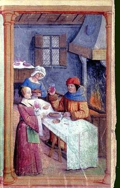 I have gathered some additional strycsitten images from medieval illuminations and paintings. They can be divided in French type strycsit...
