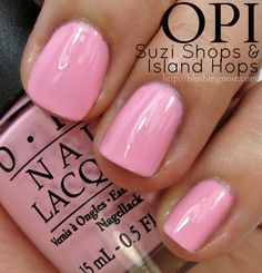 OPI Suzi Shops & Island Hops Nail Polish Swatches // Hawaii Collection for Spring 2015