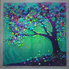Ähnliche Artikel wie The Peacock Tree - Inner Illumination - Original Study auf Etsy