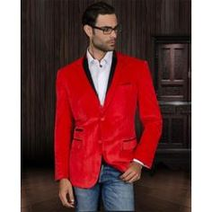 ddc8604efcc08 12 Best Mens red blazers images