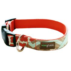 Mimi Green Murphy Dog Collar | Designer Dog Collars at Glamourmutt.com