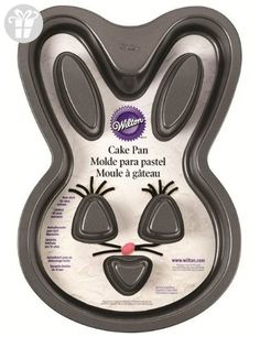 Wilton 2105-0819 Bunny Non-Stick Cake Pan- Discontinued By Manufacturer (*Amazon Partner-Link)