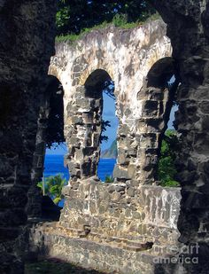 ✯ St Lucia Ruins at Pigeon Island National Landmark