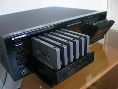Get New Pioneer 6 Multi-Cassette Changer Price in Pakistan. here for offer is Pioneer 6 Multi-Cassette Changer for Its one. Cd Audio, Hifi Audio, Gadgets, Mini System, Cassette Vhs, Retro, Studio Headphones, Old Computers, Tape Recorder