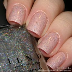 Dóra, the nail polish addict: Moyra Silk Nude – Madrid + ILNP – My Private Rainbow (X)