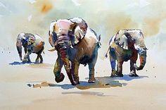 Trumpet Line - Jake Winkle ~ Watercolors