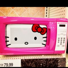 Well hello! If I used a microwave this is the one I would have!