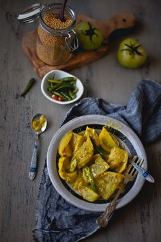 Green Tomato Chutney | Playful Cooking