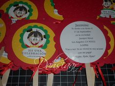 chilindrina invitations