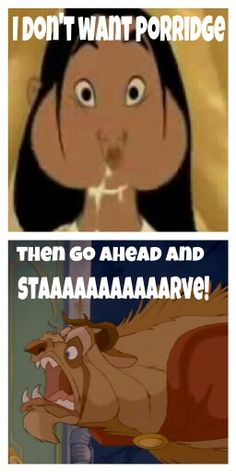 Mulan/beauty and the beast #disney humor - lol