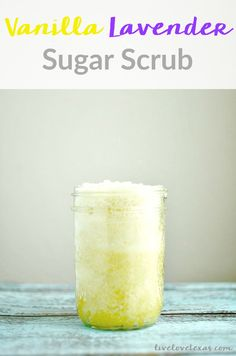 This recipe is just so easy to make and uses items you likely already have in your house. I'm loving this Vanilla Lavender Sugar Scrub recipe. It really does rival store bought scrubs and smells amazing!