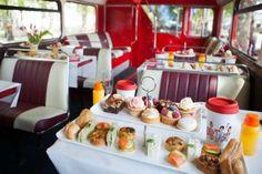 BB Bakery Vintage Afternoon Tea Bus Tour