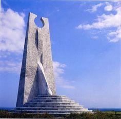 Goccia nell'Oceano Pacifico 1999, marmo bianco del Taiwan, Taiwan, Yoshin Ogata http://musapietrasanta.it/content.php?menu=artisti