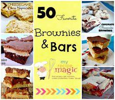50 Favorite Brownies and Bars   Six Sisters' Stuff