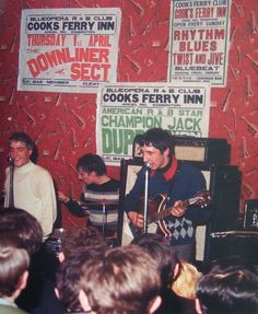 """The Who playing at the Blueopera Club, Edmonton (North London) on 25 March 1965 (x) """""""
