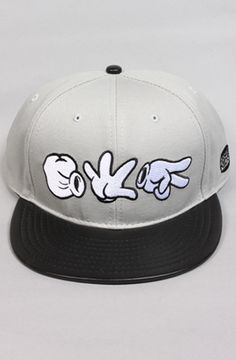 Rock Paper Cut Snapback by Booger Kids