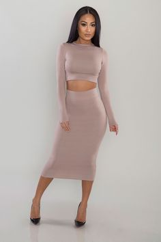 2f822be28ed04 Knightley Two Piece - Taupe