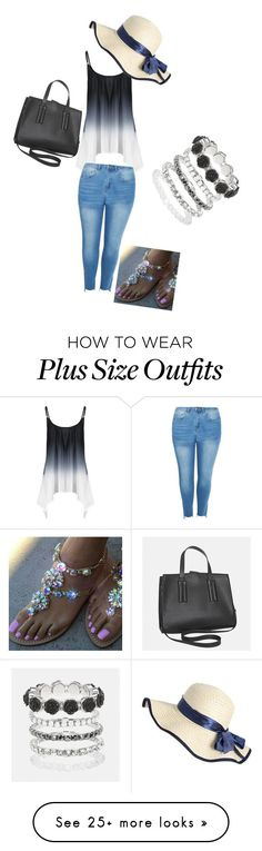 """""""Female Plus Size outfit"""" by crayshark on Polyvore featuring Boohoo and Avenue"""